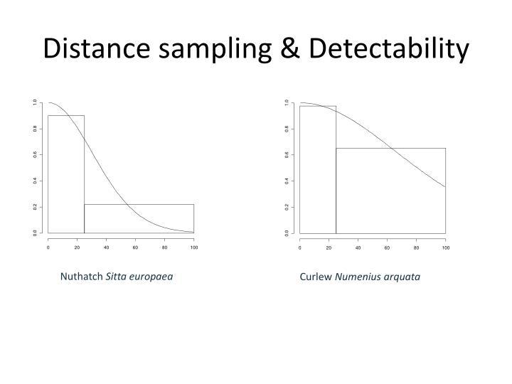 Distance sampling &