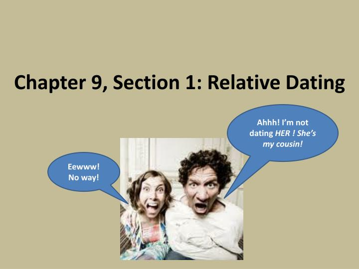 Chapter 9 section 1 relative dating