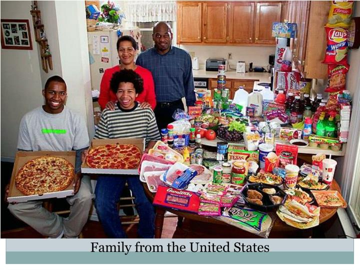 Family from the United States