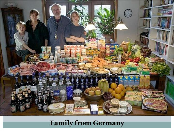 Family from Germany