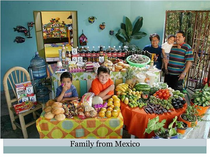 Family from Mexico