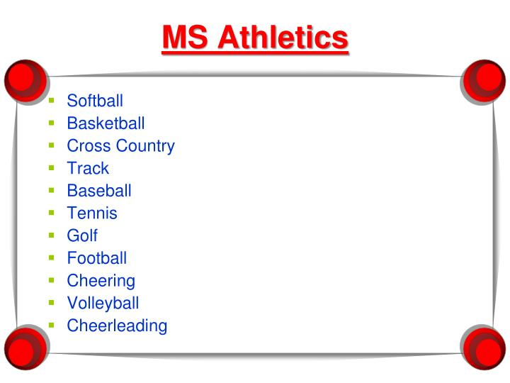 MS Athletics