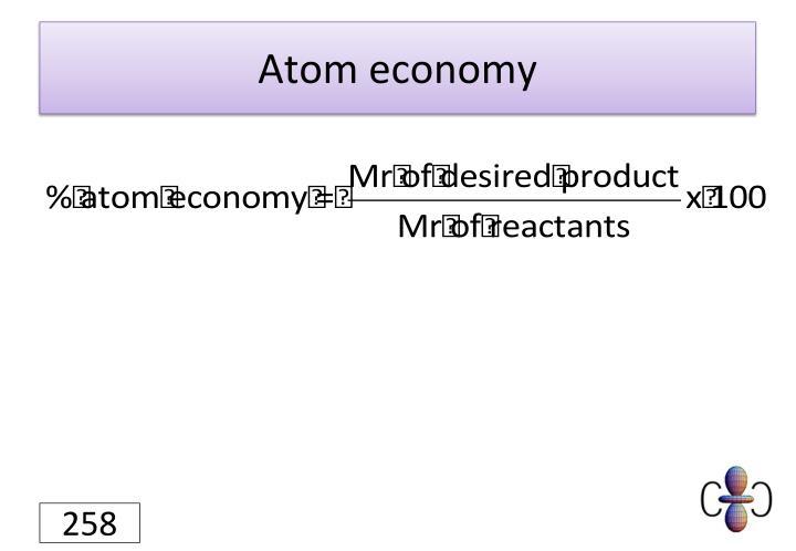 Atom economy