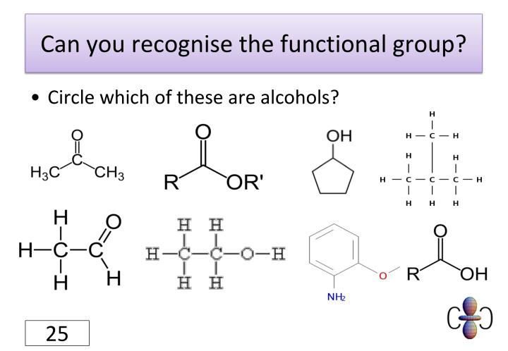 Can you recognise the functional group?