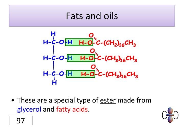 Fats and oils