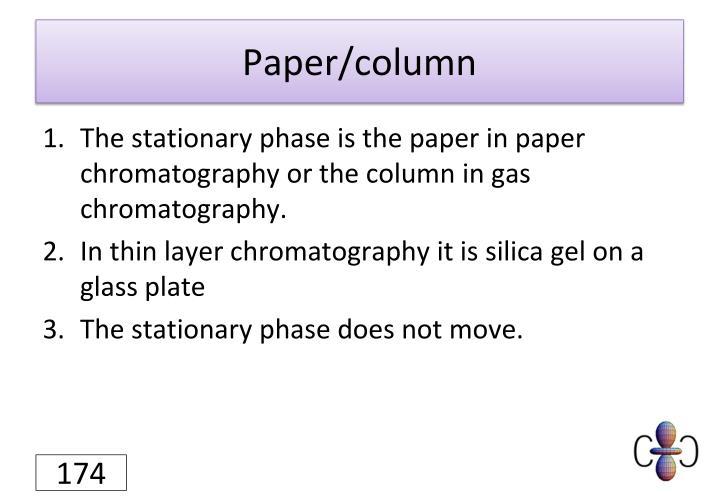 Paper/column