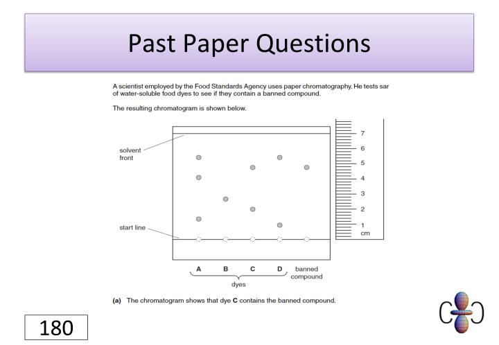 Past Paper Questions