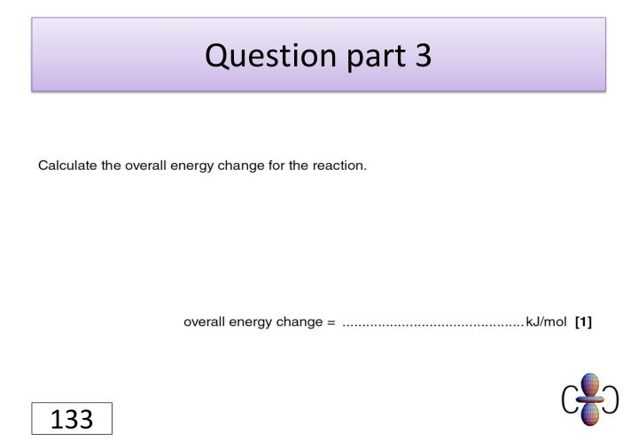Question part 3