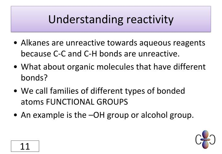 Understanding reactivity