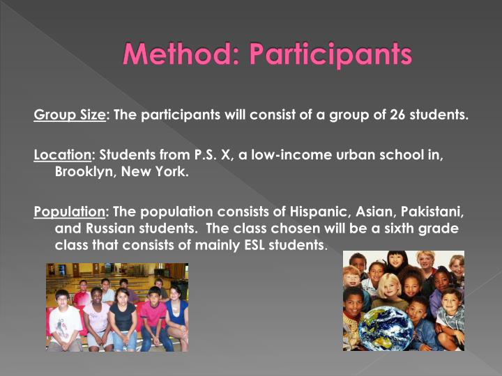 Method: Participants