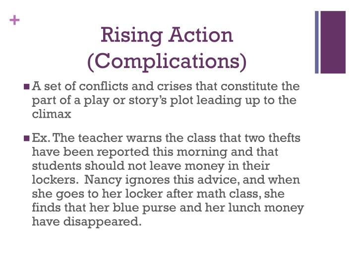 Rising Action (Complications)