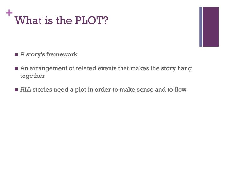 What is the PLOT?