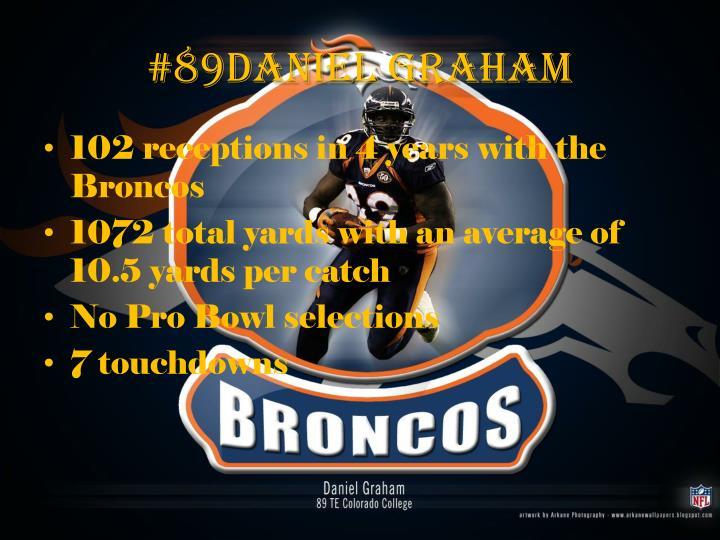 #89Daniel Graham