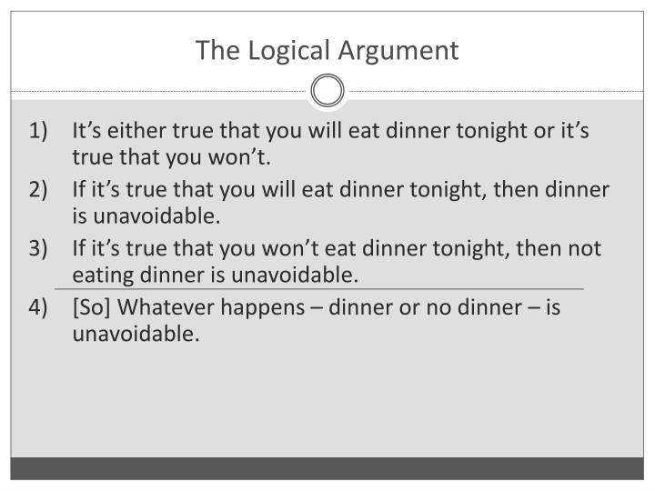 The Logical Argument