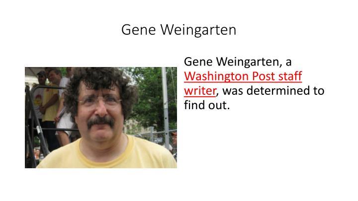 Gene Weingarten