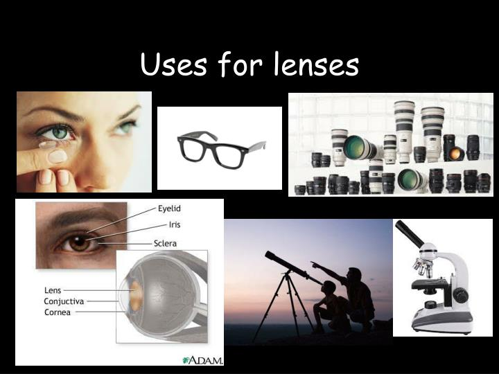 Uses for lenses