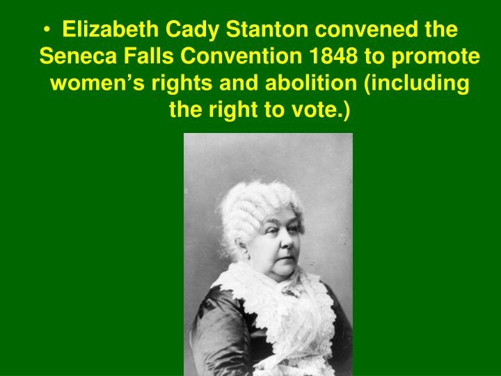 Abolition womens rights
