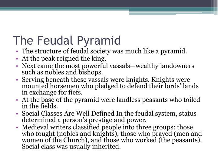The Feudal Pyramid