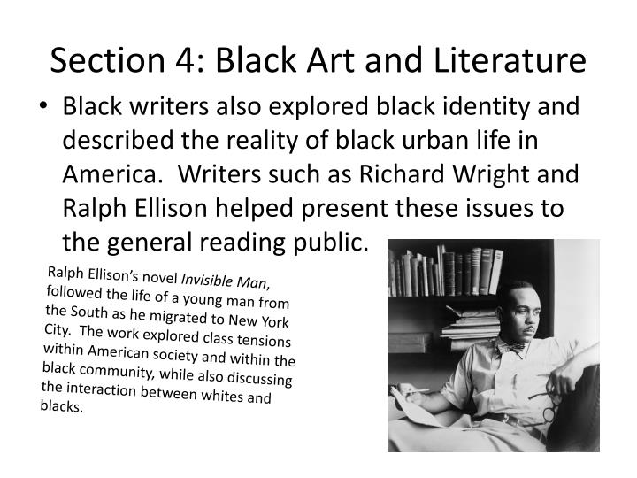 Section 4: Black Art and Literature
