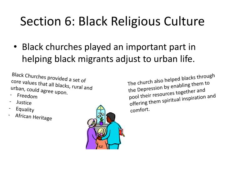 Section 6: Black Religious Culture
