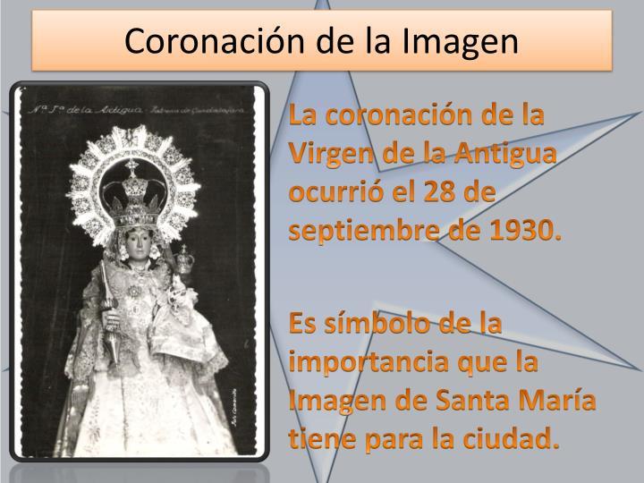 Coronación de la Imagen