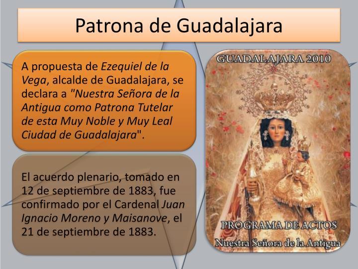Patrona de Guadalajara