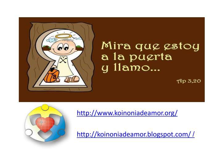 http://www.koinoniadeamor.org/