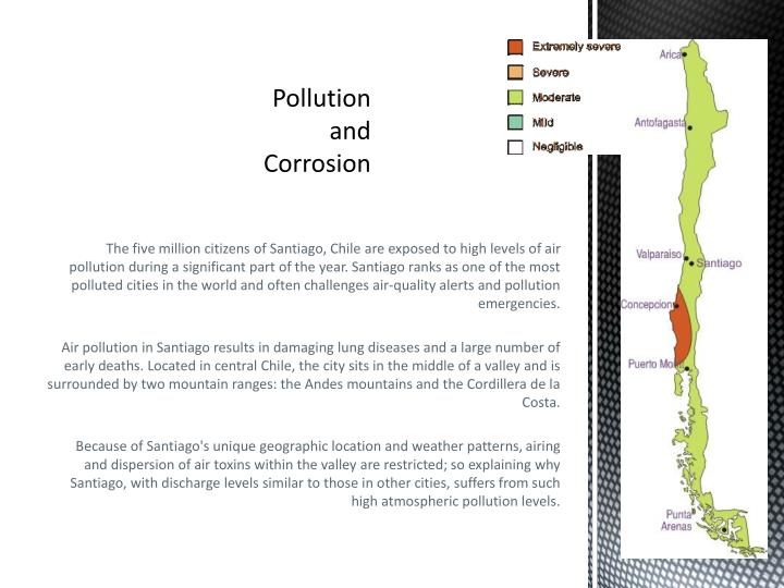 Pollution and Corrosion