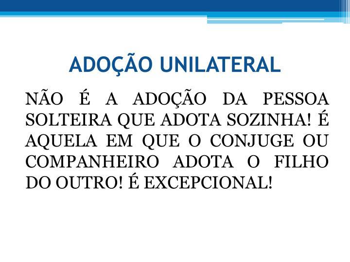 ADOO UNILATERAL