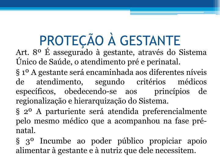 PROTEO  GESTANTE