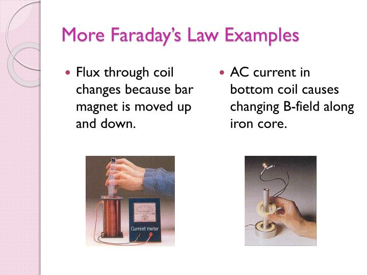 More Faraday's Law Examples