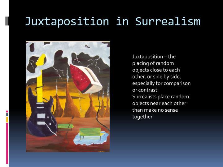 Juxtaposition in Surrealism