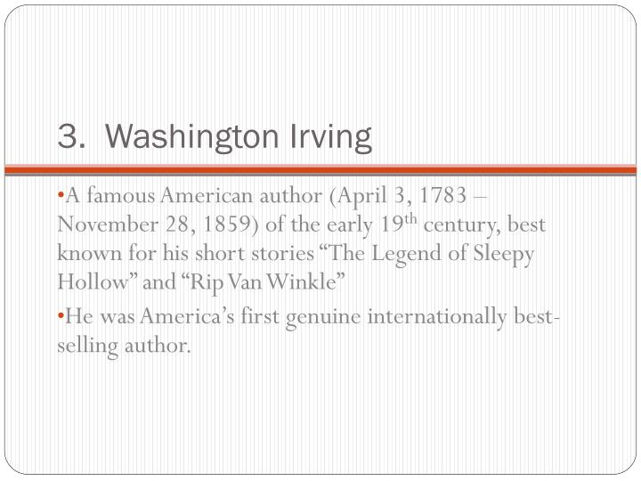 """the cultural legacy of washington irving """"linked to his fellow man of civilized life"""": washington irving, the transatlantic  native  native american history and culture, and to my mother and father who  believed i could do this  legacy to continue through them."""