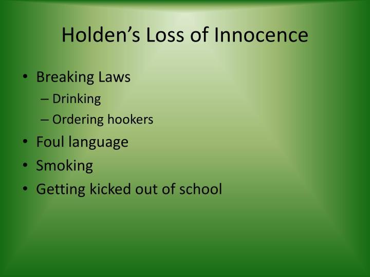 Holden's Loss of Innocence