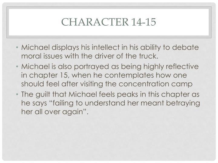 Character 14-15