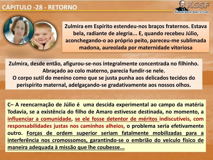 CAPITULO -28 - RETORNO