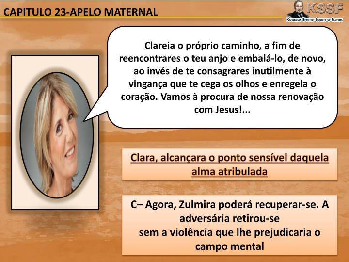 CAPITULO 23-APELO MATERNAL