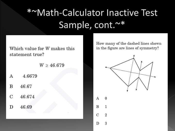 *~Math-Calculator Inactive Test