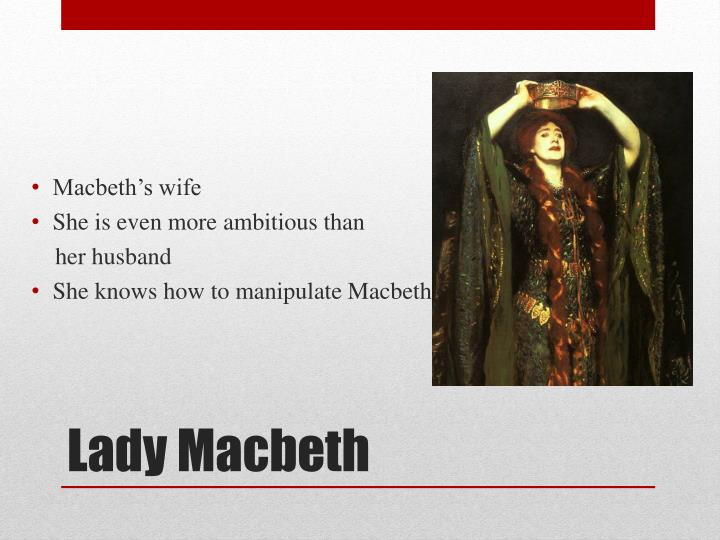 Macbeth's wife