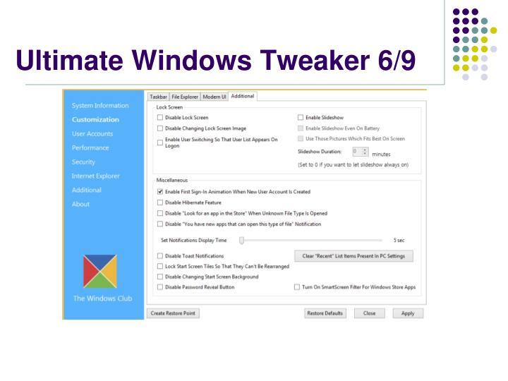 Ultimate Windows