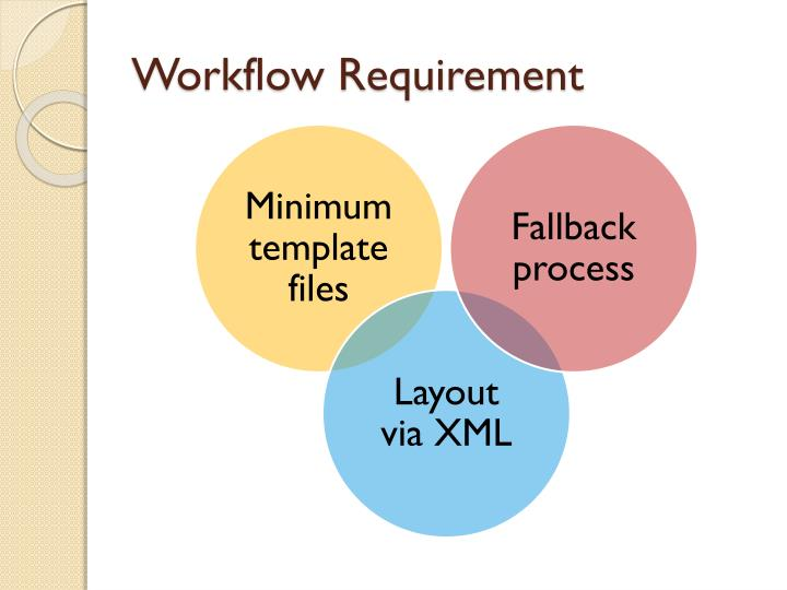 Workflow Requirement
