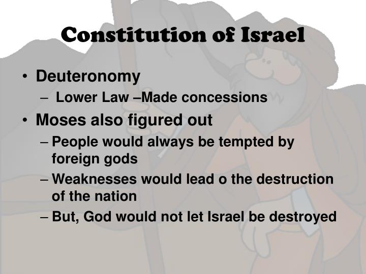 Constitution of Israel