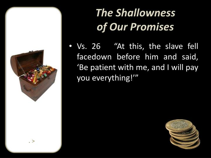 The Shallowness