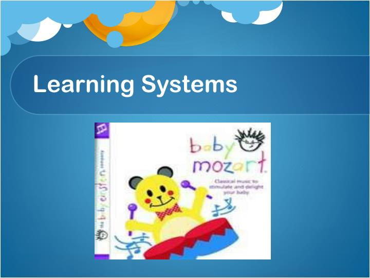 Learning Systems