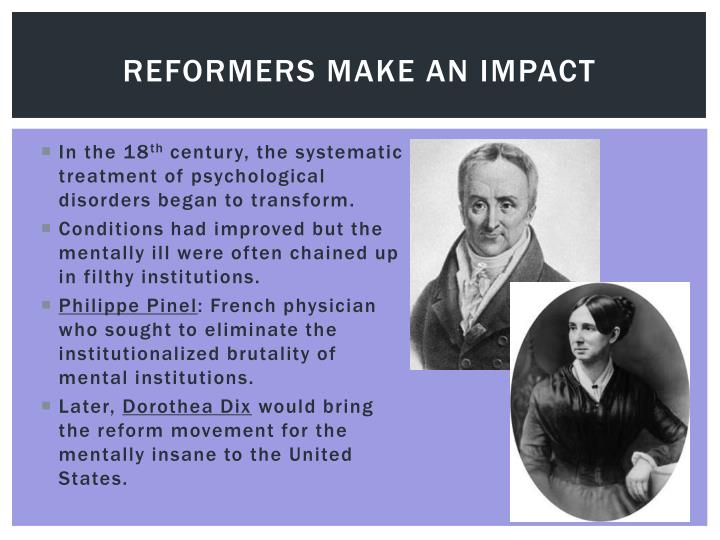 Reformers make an impact