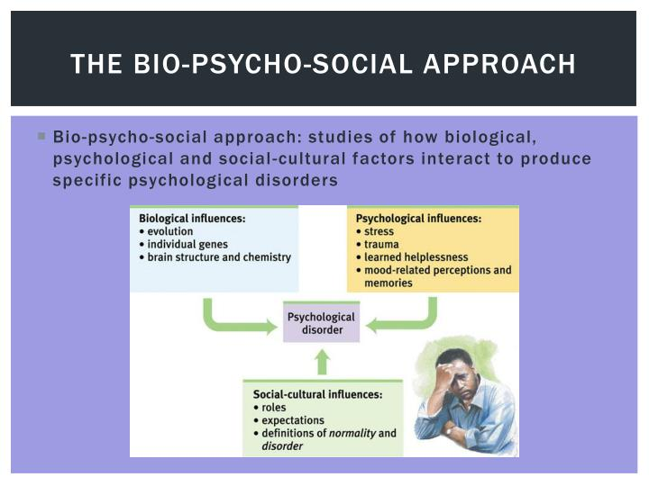 The Bio-psycho-social Approach