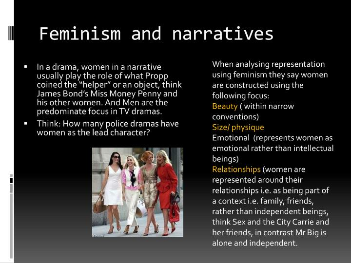 Feminism and narratives