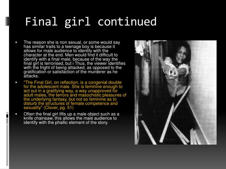Final girl continued