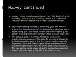 mulvey continued