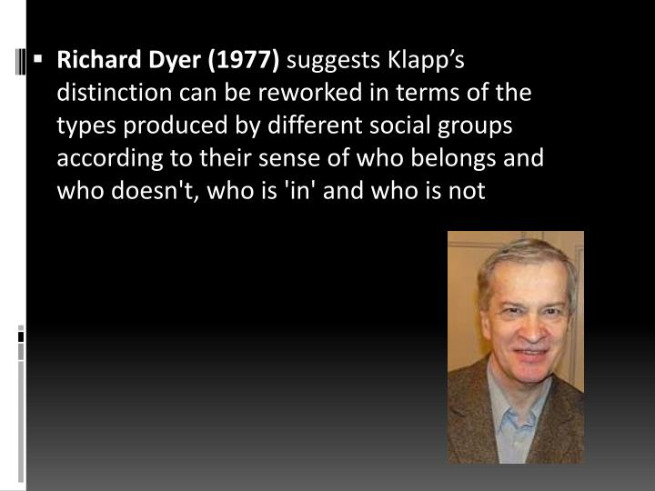 Richard Dyer (1977)